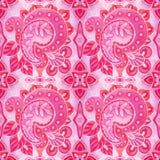 The intricate batik pattern royalty free stock images