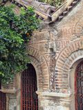 Intricate Brickwork, Byzantine Church Stock Images