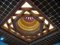 Intricate Ceiling Design Royalty Free Stock Photos