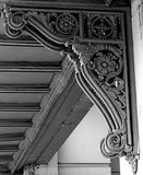 Intricate. Corner bracket from an old building in downtown Indianapolis, Indiana. I was fascinated at  how much detail that went into such a small often Royalty Free Stock Photography