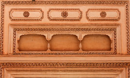 Intricate design on the walls Stock Photo