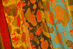 Intricate Fabric from Nepal Royalty Free Stock Images