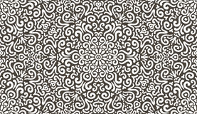 Intricate fantasy contrast seamless pattern Stock Images