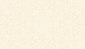 Intricate fantasy white seamless pattern Stock Images