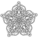 Intricate floral design Royalty Free Stock Photos