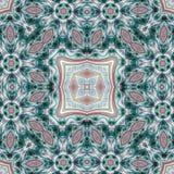 Intricate fractal mandala Royalty Free Stock Photo