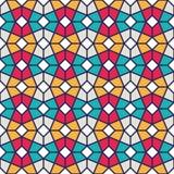 Intricate Geometric Pattern Stock Image