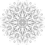 Intricate hand-drawn web design element. Vector Stock Photography