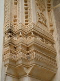 Intricate Indian stone carving Royalty Free Stock Photography
