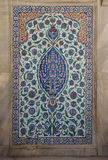 Intricate Iznik mosaic tile work Royalty Free Stock Photos
