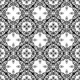 Intricate Lace Pattern Background Stock Image