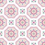 Intricate Mandala Pattern Tile Background Royalty Free Stock Images