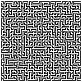 Intricate Maze Royalty Free Stock Photos