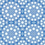 Intricate moorish eastern pattern Stock Images
