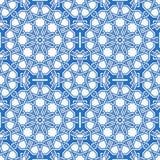 Intricate moorish eastern pattern Stock Images