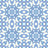 Intricate moorish eastern pattern Stock Photography