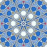 Intricate moorish eastern pattern Royalty Free Stock Images