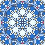 Intricate moorish eastern pattern Royalty Free Stock Images