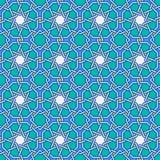 Intricate moorish eastern pattern Stock Photo