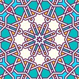 Intricate moorish eastern pattern Royalty Free Stock Image