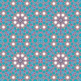 Intricate moorish eastern pattern Stock Image