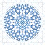 Intricate moorish eastern pattern Stock Photography