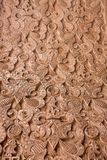 Intricate Moroccan stone work Stock Photo