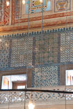 Intricate mosaics of  Blue Mosque Royalty Free Stock Photography