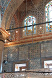 Intricate mosaics of  Blue Mosque Royalty Free Stock Images