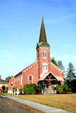 Intricate Old Brick Church Royalty Free Stock Image