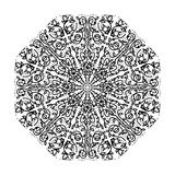 Intricate ornate floral mandala Royalty Free Stock Photo