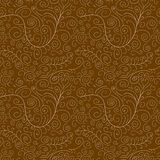 intricate pattern with white swirls Royalty Free Stock Images