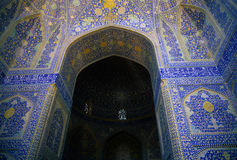 Intricate Persian mosaics Stock Image