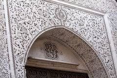 Intricate plaster work Stock Photography