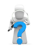 Intricate question Stock Images