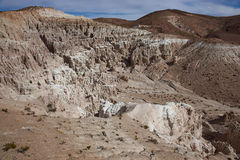 Intricate Rock Formations on the Chilean Altiplano Stock Image