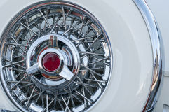 Intricate spare wheel Royalty Free Stock Photos
