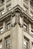 Intricate stonework architectural details, Manhattan Stock Photo