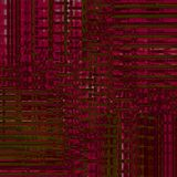 Intricate stripes pattern dark red brown olive green shifted and dimensional. Abstract geometric background. Intricate stripes pattern dark red, brown and olive Stock Image