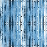 Intricate stripes pattern with ellipses blue gray white black vertically. Abstract geometric background. Intricate stripes pattern with ellipses light blue, gray Stock Photography