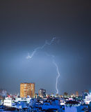 Intricate Thunderbolt Stock Photography