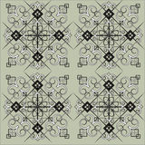 Intricate tile pattern Royalty Free Stock Images