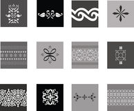 Intricate traditional patterns Stock Photos