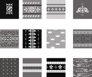 Intricate traditional patterns Royalty Free Stock Photography