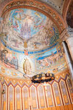 Intérieur d'église Expiatori del Sagrat Cor de Tibidabo Photos stock