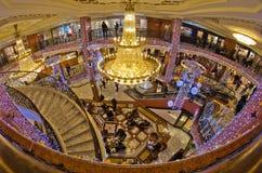 Intérieur de centre commercial, Monaco France Image stock