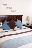 Intérieur de chambre à coucher Image stock