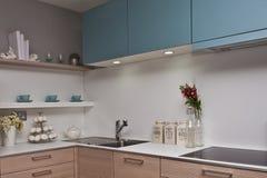 Intérieur de cuisine Photos libres de droits