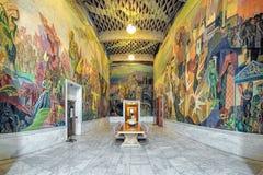 Intérieur de la pièce occidentale de Storstein de galerie dans la ville hôtel, Norvège d'Oslo Image stock