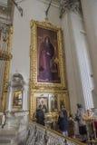 Intérieur de la trinité &#x28 ; Troitsky&#x29 ; Cathédrale Photos stock